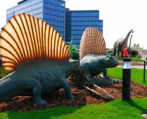Прага для детей. Парк динозавров «Dino Park»