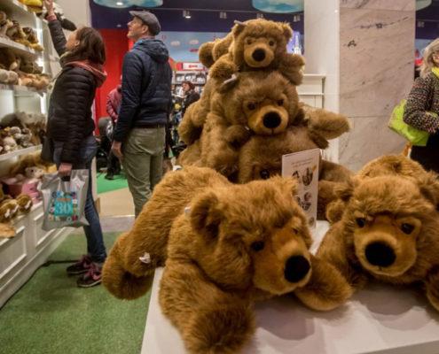 Прага для детей. Магазин игрушек «Hamleys»