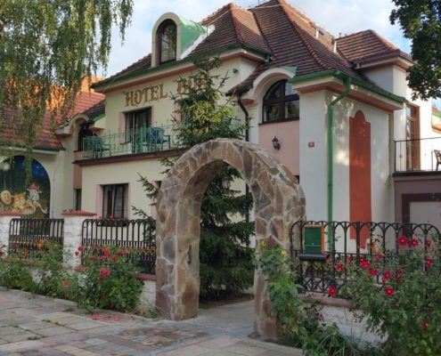 5 пригородных отелей Праги. Hotel Bor