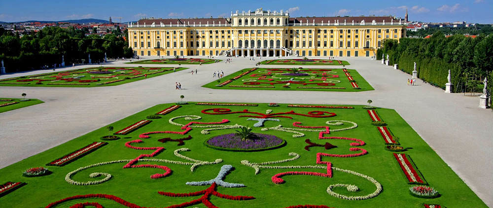 Галопом по Европам. Дворец Шенбрунн