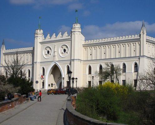 Галопом по Европам. Люблинский замок