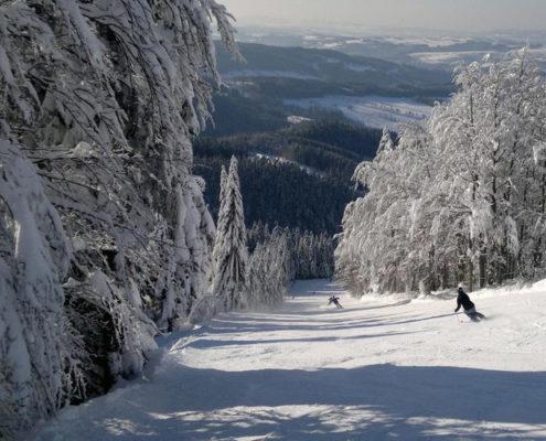 4 лучших горнолыжных курорта Чехии. Рокитнице