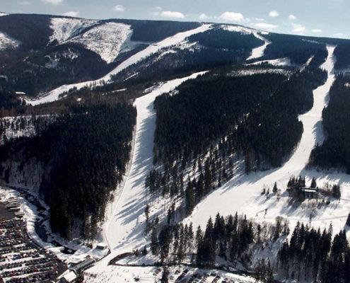 4 лучших горнолыжных курорта Чехии. Шпиндлерув Млын