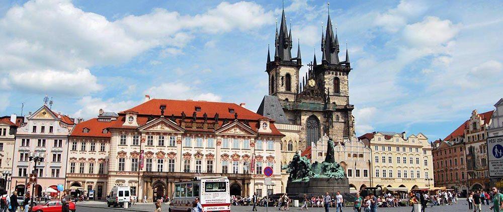 Галопом по Европам. Старое место в Праге
