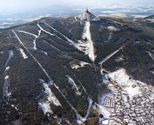 4 лучших горнолыжных курорта Чехии. Йештед
