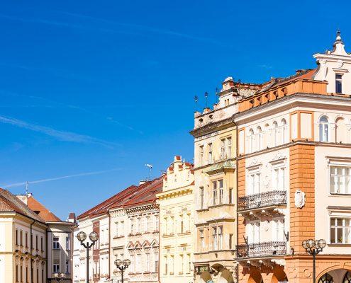 Большая площадь, Hradec Kralove
