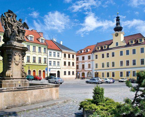 Малая площадь, Hradec Kralove