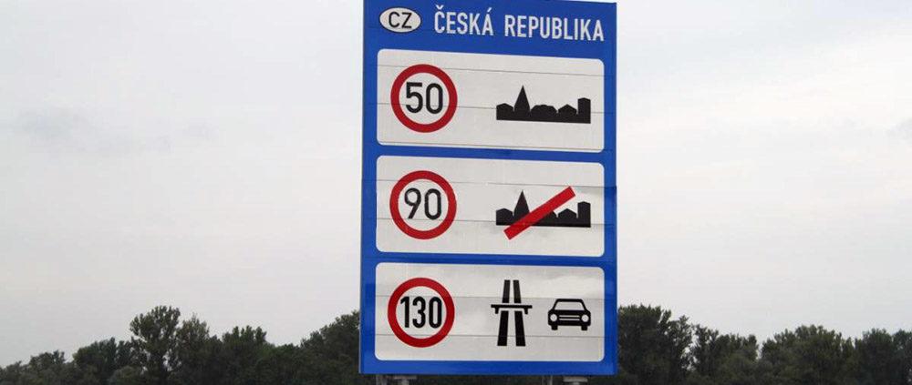 Особенности ПДД, парковки и заправки Праги. Ограничение скорости в Чехии