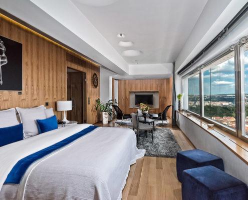 Отели, ботели, хостелы — 13 лучших мест Праги. Отель «One Room Hotel»