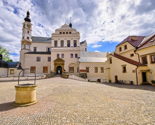 Пардубицкий замок в Чехии