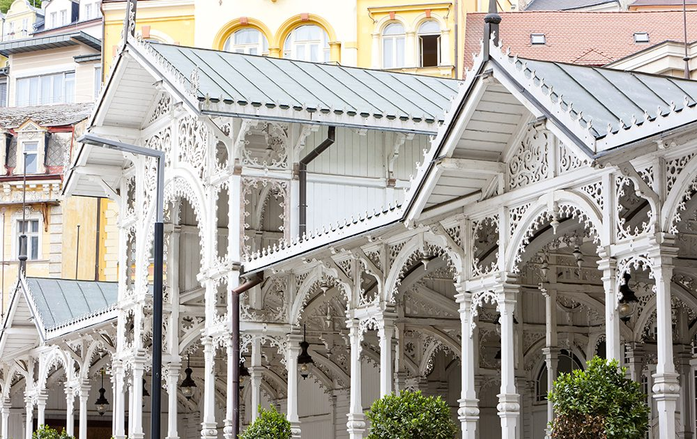 Market Colonnade, Karlovy Vary (Carlsbad), Czech Republic
