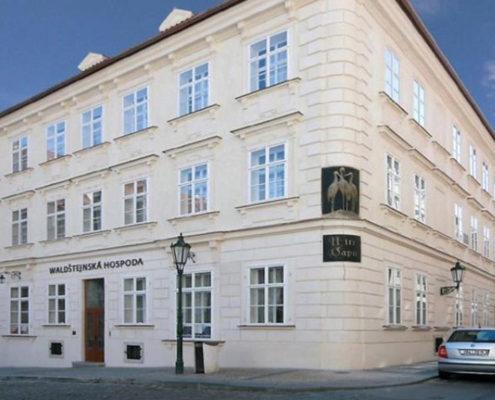 Отели, ботели, хостелы — 13 лучших мест Праги. Отель «Three Storks Hotel»